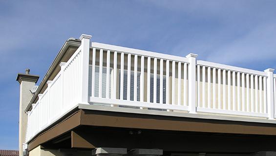 Vinyl Railings Balcony Railings Vinyl Fence Depot