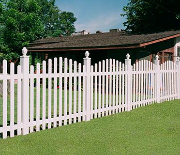 Picket Fencing Vinyl Picket Fences Privacy Fences