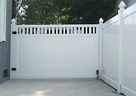 Vinyl Driveway Gates Gazebos Decking Railings