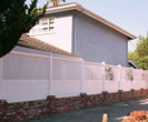 Privacy Fence with Lattice