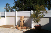 Free Standing Block Wall Extension