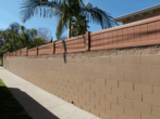 Mocho Walnut Block Wall Extension