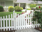 Vinyl Picket Gate