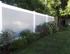 Vinly Privacy Fencing Gray Color