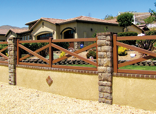 mocha walnut wood grain vinyl ranch fence and pvc horse that does not fade for horse fence ranch farm livestock equine brown vinyl fence54 vinyl